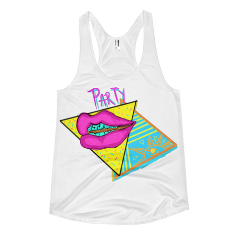 [Party Pyramid] Racerback Tank