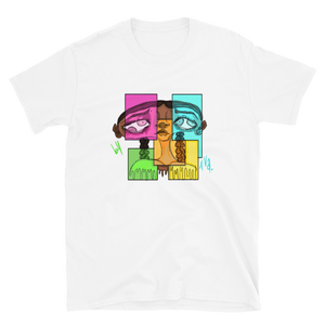Open image in slideshow, [Four Eyes] Short-Sleeve Unisex T-Shirt