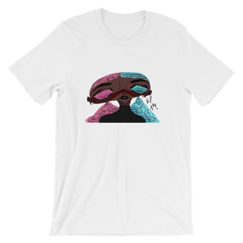 [Pretty in Pink... And Blue] Short-Sleeve Unisex T-Shirt