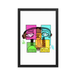 [Four Eyes] Framed poster