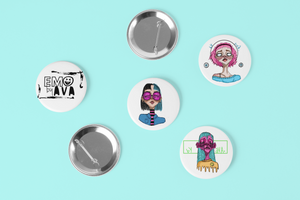 [EMO] Pin-Back Buttons Set