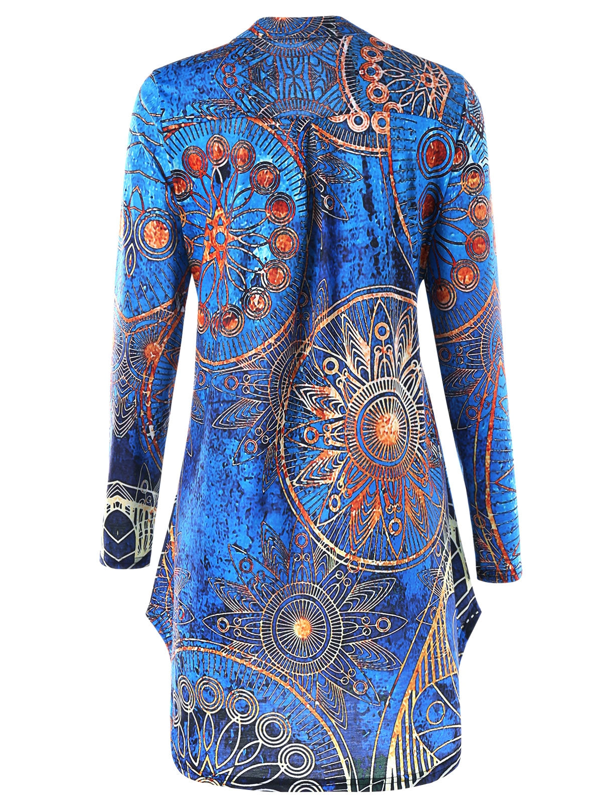 89fc21103fe0e Plus Size Tribal Printed Tunic T-shirt – Queen Size Zone