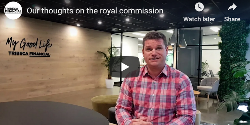Our thoughts on the findings from the banking royal commission