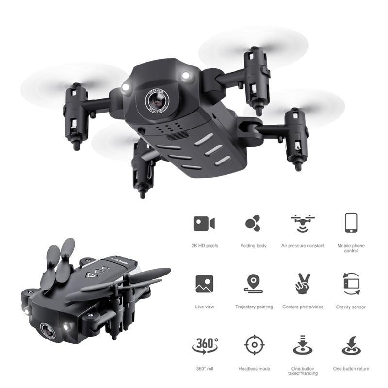 KK8 Foldable Mini Drones RC FPV Quadcopter HD Camera Wifi FPV Dron Selfie RC Helicopter  The Best Gift For Children