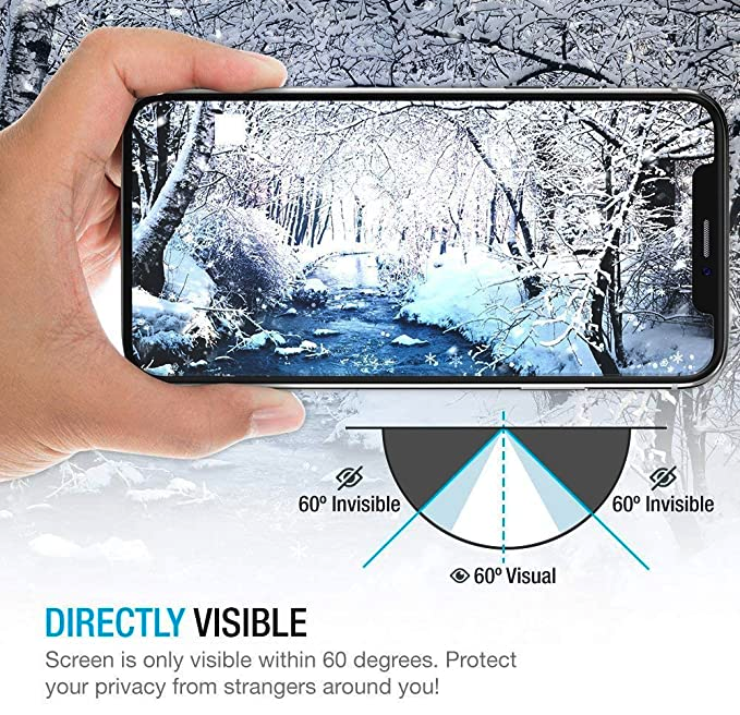 Privacy Glass Anti Spy Screen Protector for iPhone 11 XR XS X Models - Gimme Trend