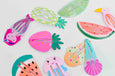 Tropical Snap Clips // Set of 3