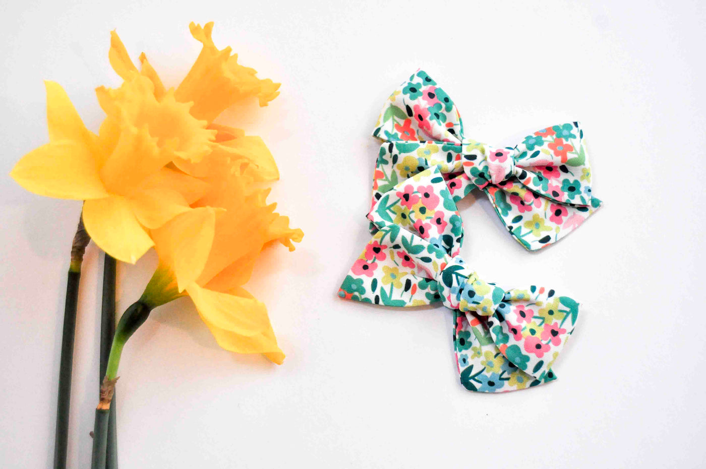 Pigtail Set Mini Claire // May Flowers