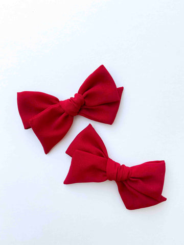 Pigtail Set Mini Claire // Rudolph Red