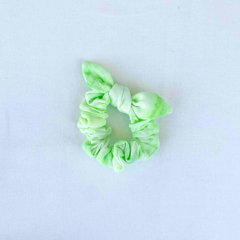 Bow Scrunchie // Limeade