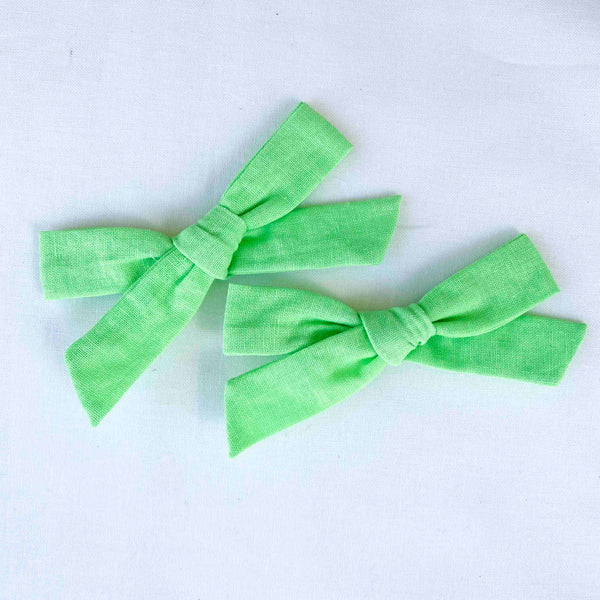 Pigtail Set Medium Florence // Sour Green Apple