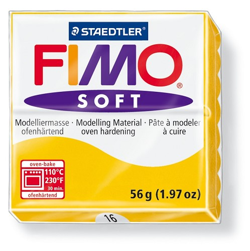 Staedtler Fimo Soft Modelling Clay Block 56g - Sunflower