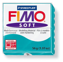 Staedtler Fimo Soft Modelling Clay Block 56g - Peppermint