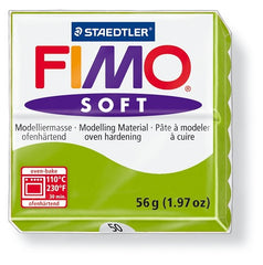 Staedtler Fimo Soft Modelling Clay Block 56g - Apple Green