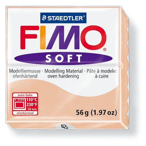 Staedtler Fimo Soft Modelling Clay Block 56g - Flesh