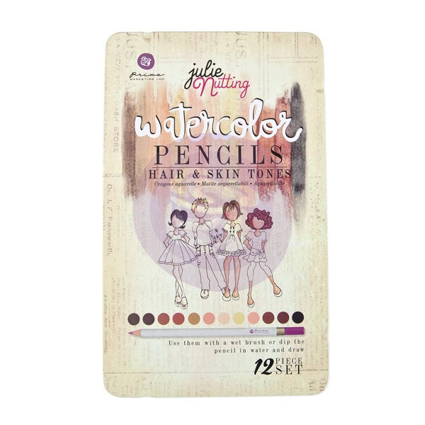 *CLEARANCE* Prima Watercolour Pencils - Julie Nutting Hair & Skin Tones