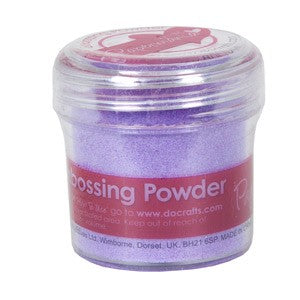 Docraft Papermania Embossing Powder - Lilac