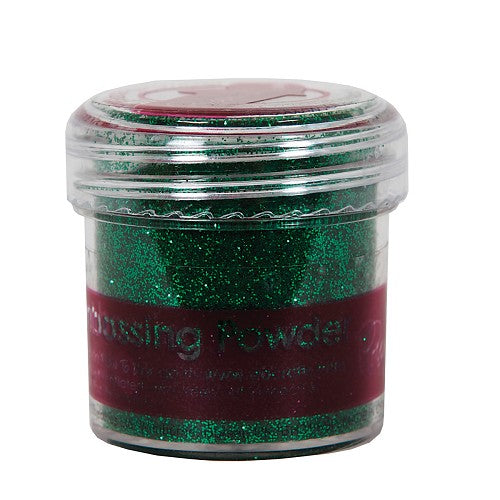 Docraft Papermania Embossing Powder - Tinsel Green