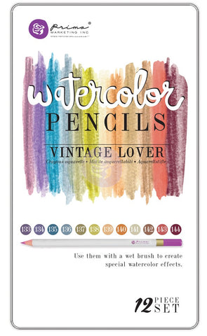 *CLEARANCE* Prima Watercolour Pencils - Vintage Lover