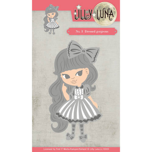 Yvonne Creations Dies - Lilly Luna Dressed Gorgeous