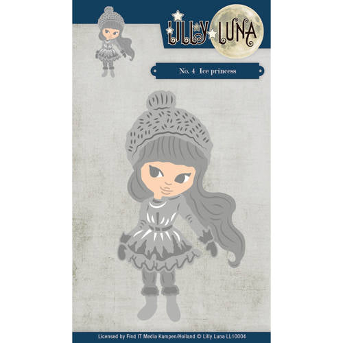 Yvonne Creations Dies - Lilly Luna Ice Princess