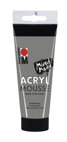 Marabu Acryl Mousse 100ml - Grey