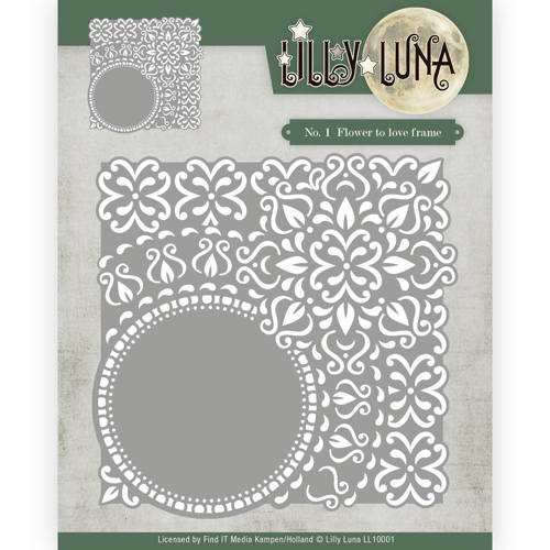 Yvonne Creations Dies - Lilly Luna Flowers to Love Frame
