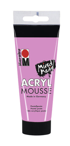 Marabu Acryl Mousse 100ml - Pink