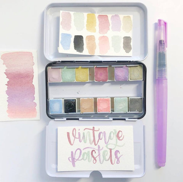 Prima Watercolour Confections - Vintage Pastel