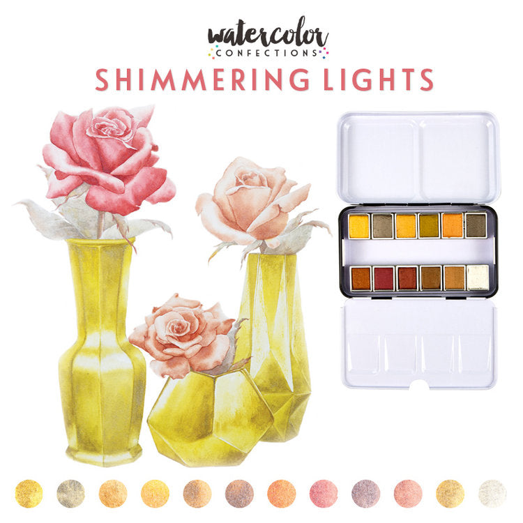 Prima Watercolour Confections - Shimmering Lights