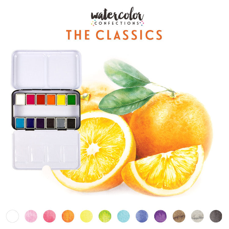 Prima Watercolour Confections - The Classics