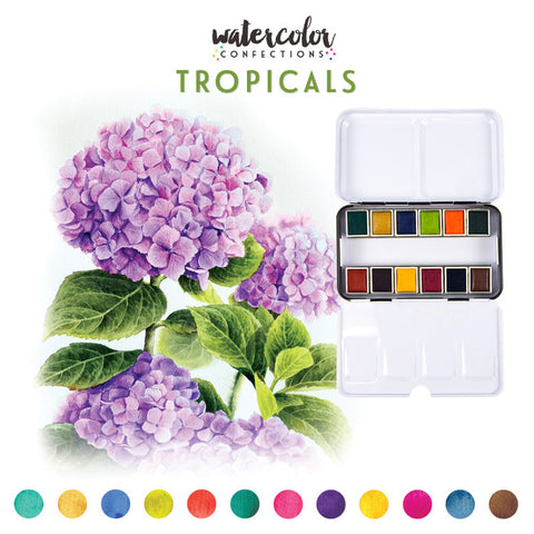 Prima Watercolour Confections - Tropicals