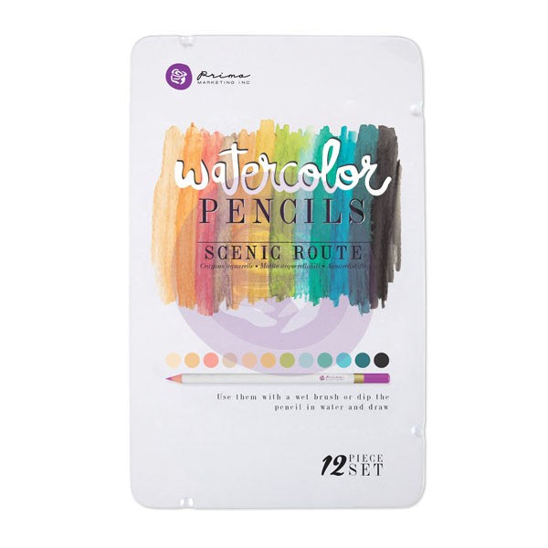 *CLEARANCE* Prima Watercolour Pencils - Scenic Route