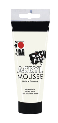 Marabu Acryl Mousse 100ml - White
