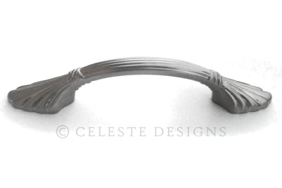 Celeste Butterfly Pull Cabinet Handle Brushed Nickel Solid Zinc