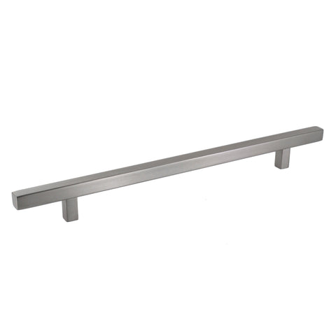 Pi Square Bar Pull Cabinet Handle Brushed Nickel Stainless