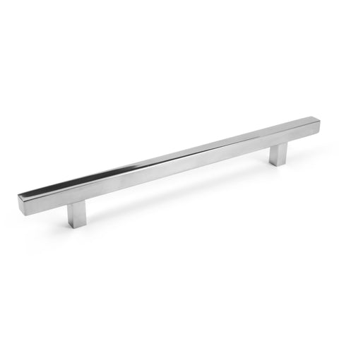 Pi Square Bar Pull Cabinet Handle Polished Chrome Stainless