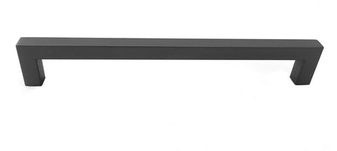 "Pewter Square Bar Pull Cabinet Handle Sizes 4"" to 24""  (1/2"" Thickness)"