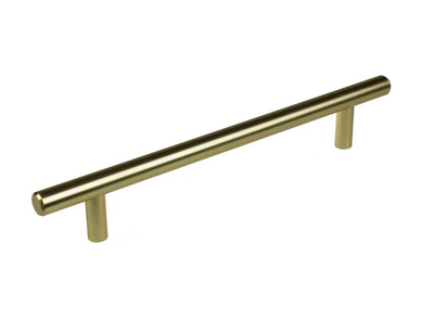 Bar Pull Cabinet Handle Gold Champagne/Brushed Bronze Solid Stainless Steel