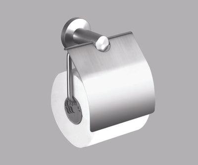 Alpha BN Toilet Paper Holder - Single - Brushed Nickel