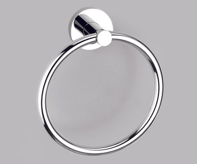 Alpha PC Towel Ring - Polished Chrome