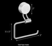 Diamond Toilet Paper Holder - Single