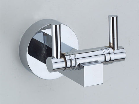 Omega Robe Hook - Polished Chrome
