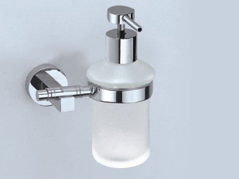 Omega Liquid Pump Soap Dispenser - Polished Chrome