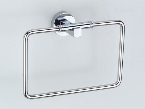 Omega Towel Ring - Polished Chrome