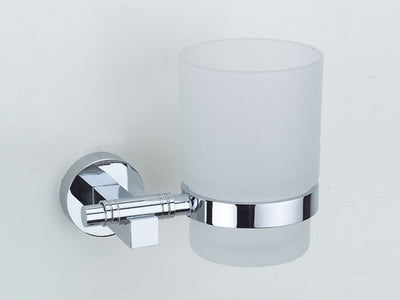Omega Tumbler Holder - Single - Polished Chrome