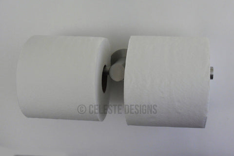 Sigma Toilet Paper Holder - Double