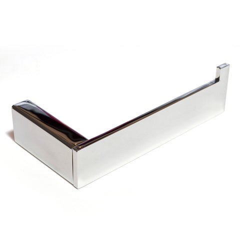 Platinum Wall Toilet Paper Roll Holder Polished Chrome Stainless Steel