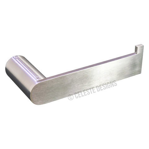 Sapphire Wall Toilet Paper Roll Holder Brushed Nickel Stainless Steel