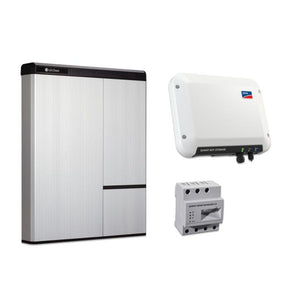 LG Chem RESU 10H with SMA Sunny Boy Storage 2.5 Battery Storage