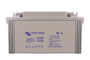 Victron 12V/130Ah AGM Deep Cycle Battery (M8) BAT412121085